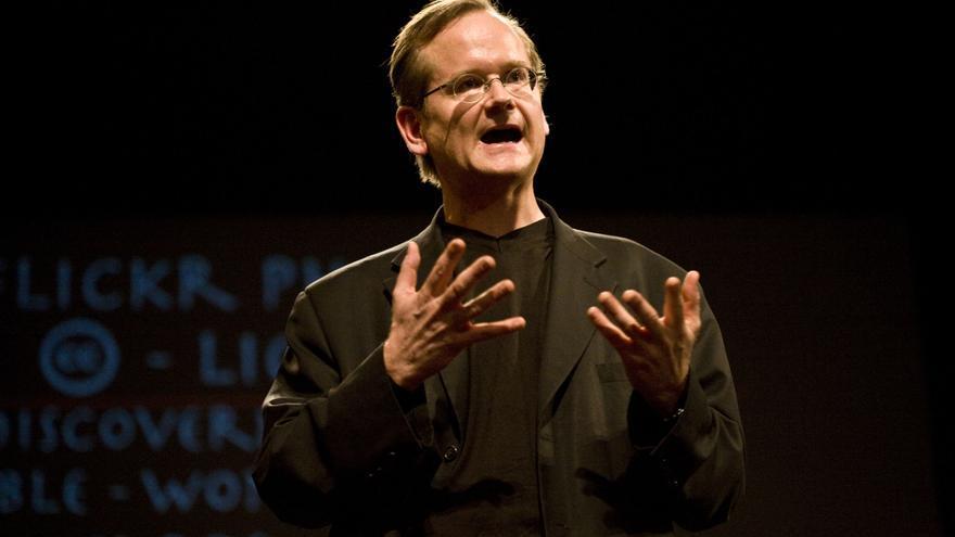 El abogado y activista Lawrence Lessig