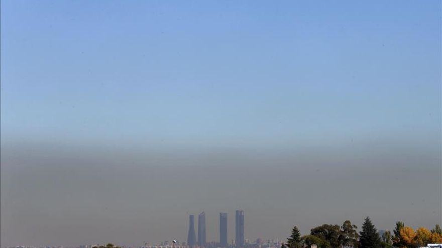 Madrid prohibirá mañana aparcar en el centro si persiste la contaminación