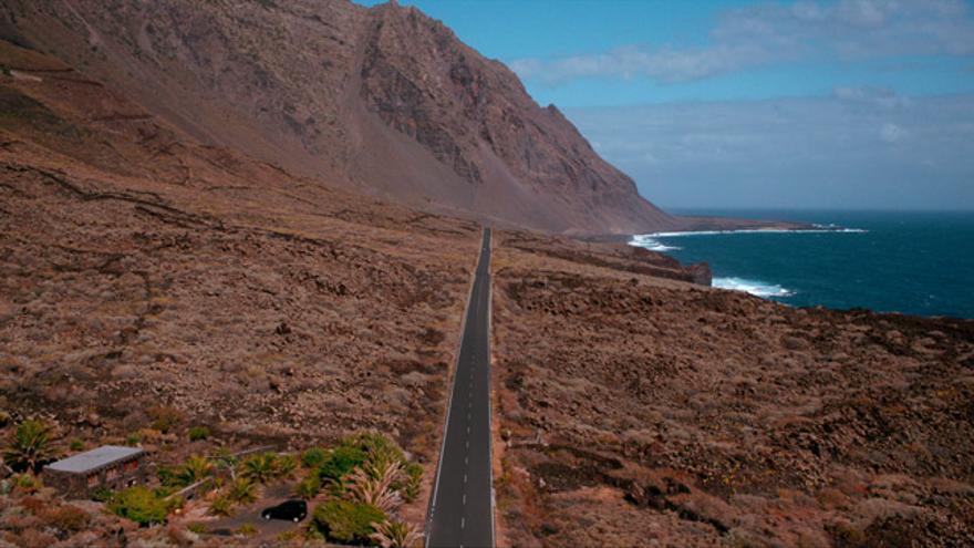 En 'Hierro', la isla se convierte en un personaje más.