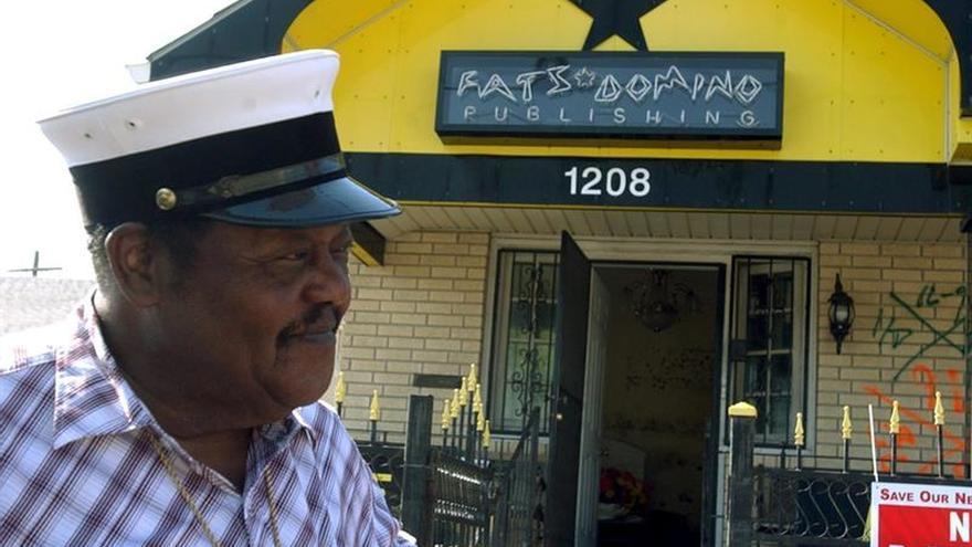 Fallece Fats Domino, arquitecto del rock and roll y héroe de Nueva Orleans