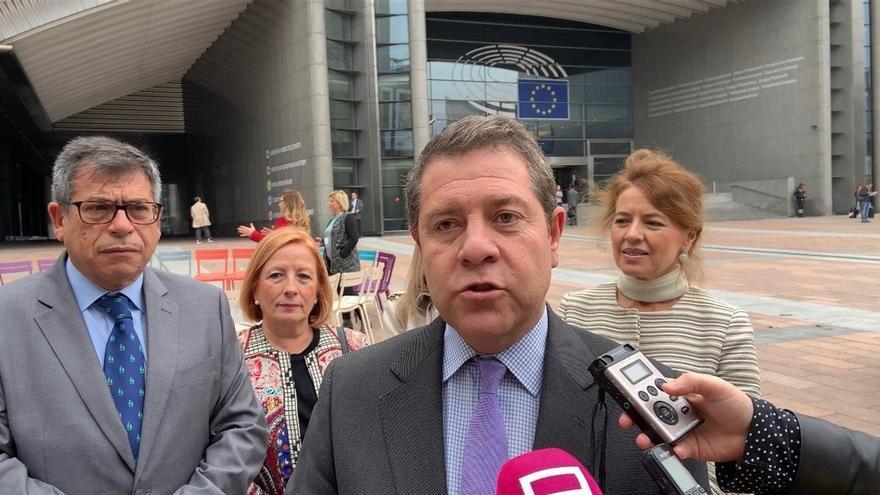 García-Page en Bruselas