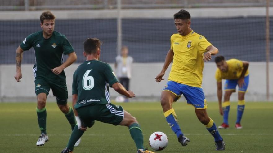 Encuentro entre Las Palmas Atlético y el Betis Deportivo