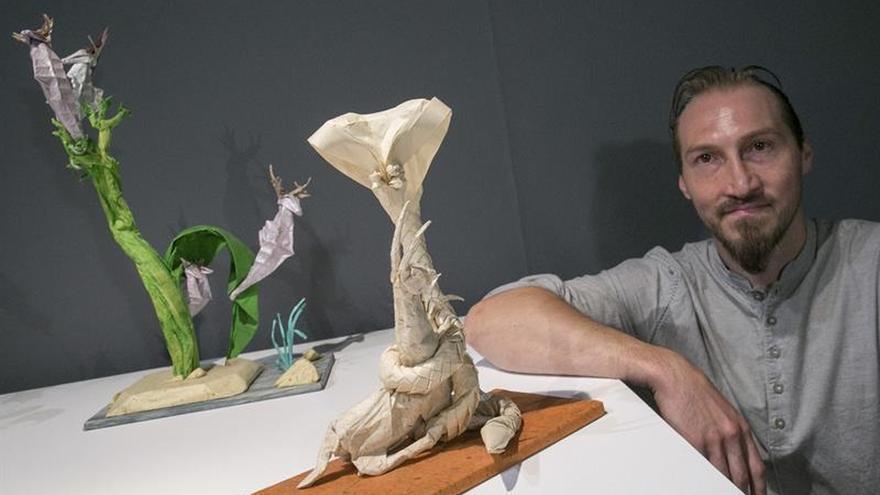 """El Museo Origami se renueva con """"El plegador loco"""", del francés Eric Vigier"""