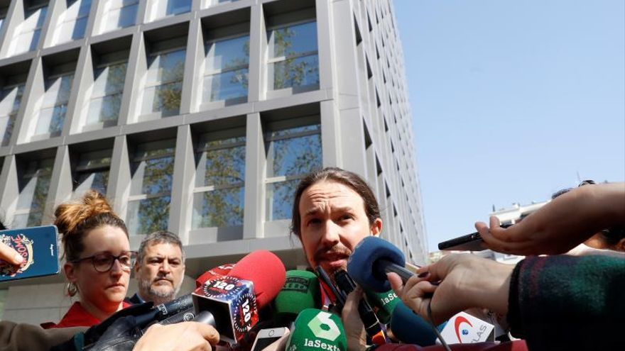 El móvil de Iglesias que investiga la Audiencia Nacional