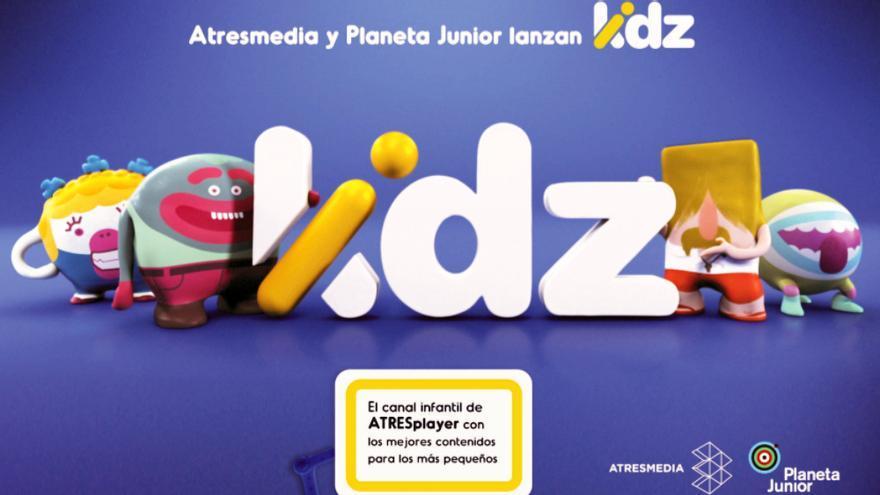 Atresmedia y Planeta Junior lanzan KIDZ, el canal infantil de ATRESplayer