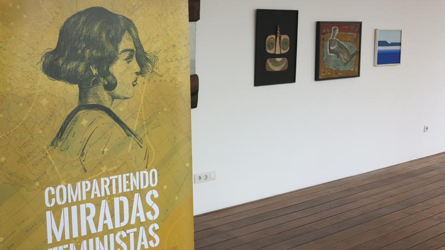 Exposición Compartiendo Miradas Feministas.