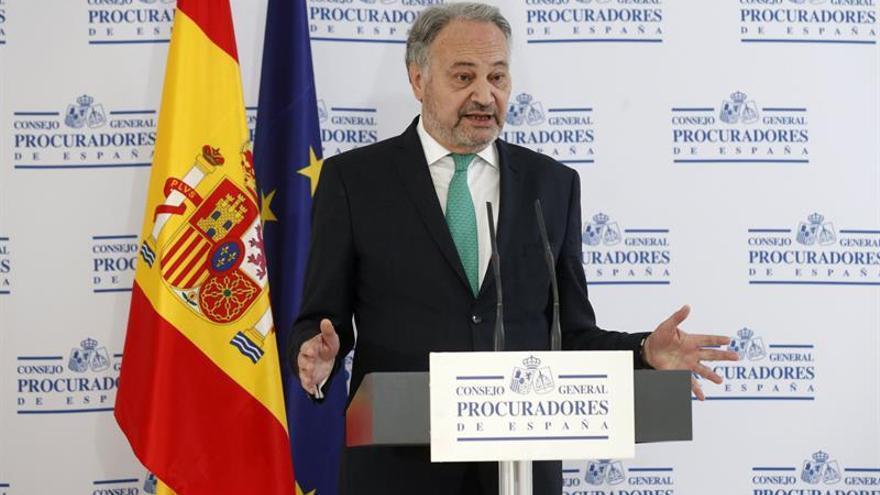 Los procuradores confían que la UE avale el futuro de la profesión en España