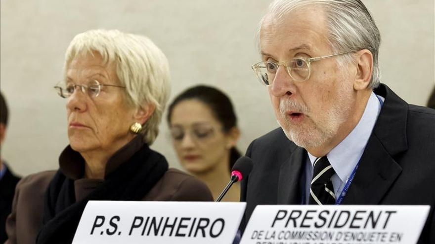 La comisión de investigación de Siria no revela nombres de supuestos criminales