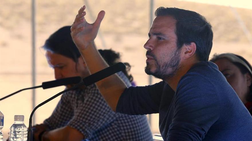 """Alberto Garzón: """"Las reformas laborales han de ser abolidas y neutralizadas"""""""