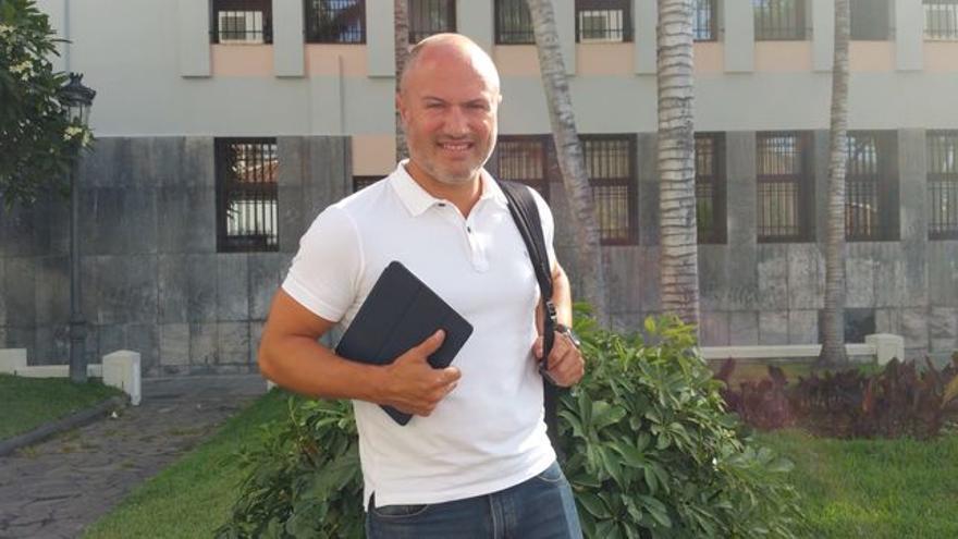 Pedro Afonso es director general de Política Territorial. Foto: LUZ RODRÍGUEZ.