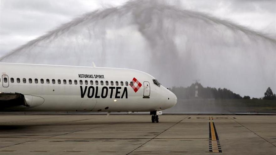 La aerolínea Volotea traslada su sede social a Asturias