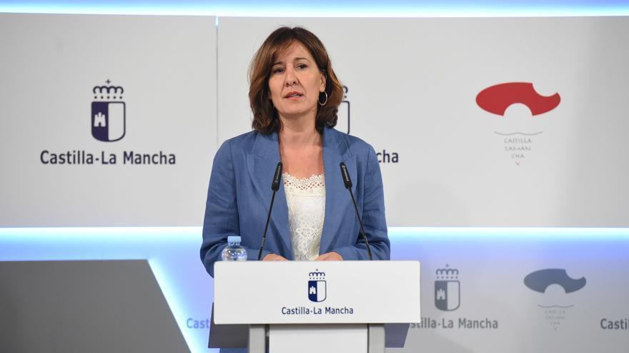 La nueva portavoz del Gobierno regional, Blanca Fernández