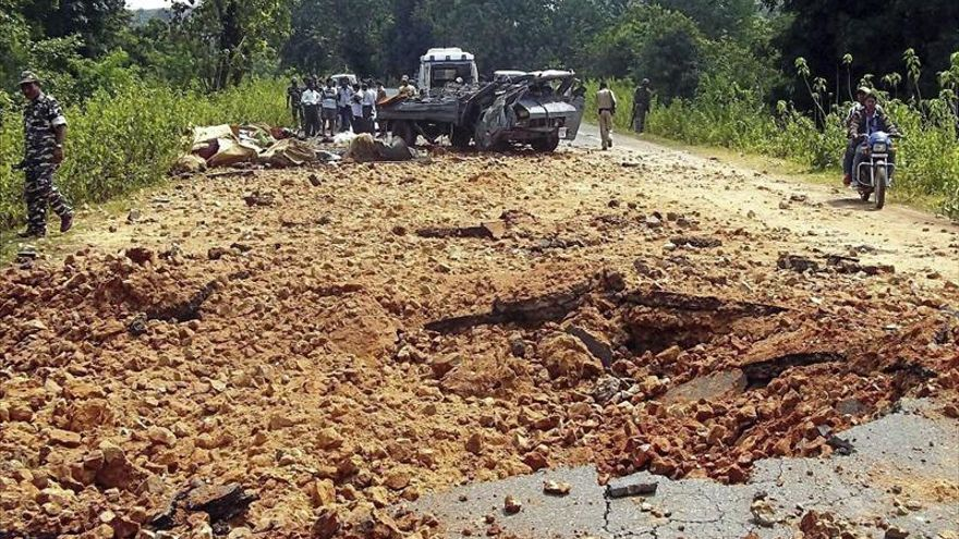 Al menos 17 muertos en un ataque maoísta en la Al menos 17 muertos en un ataque maoísta en la India
