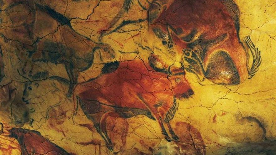 Altamira expone calcos de arte rupestre del Museo Nacional Ciencias Naturales