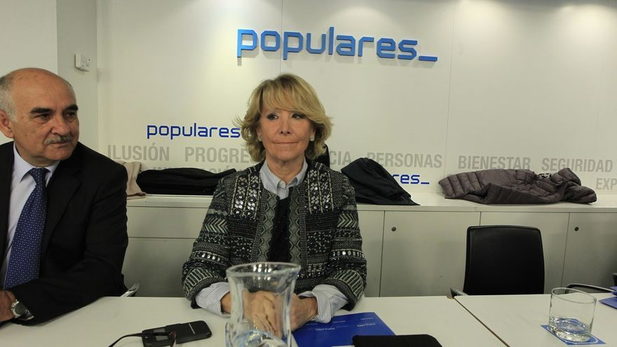 Esperanza Aguirre someterá a audiencias públicas a los miembros de su lista para el Ayuntamiento