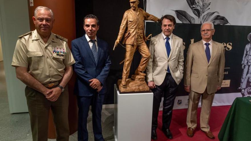 Toledo recibe una estatua en honor a los 'últimos de Filipinas' pagada por los españoles