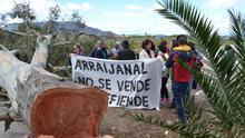 Una de las primeras protestas en Arraijanal |N.C.