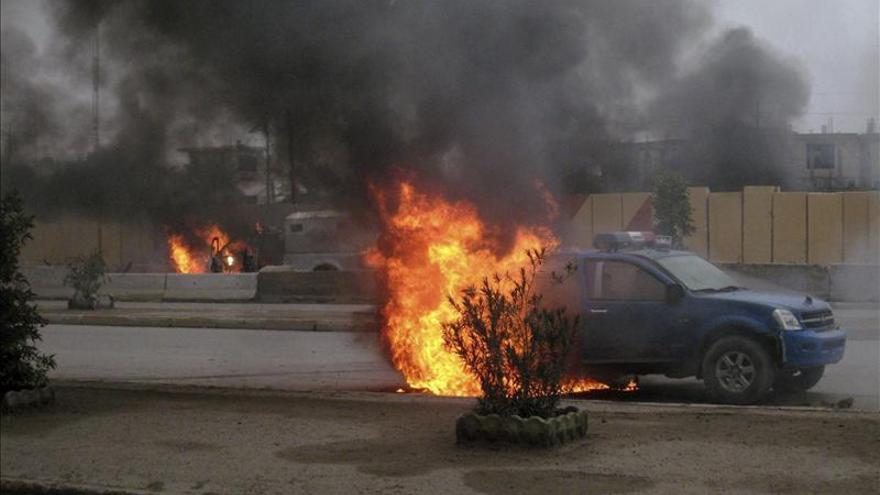 Al menos trece muertos y 50 heridos en una serie de atentados en Bagdad