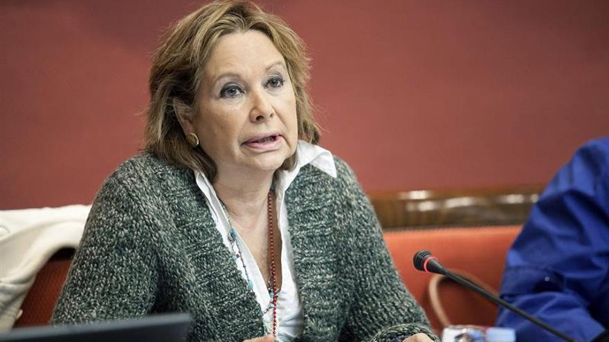 La consejera de Empleo, Industria y Comercio del Gobierno canario, Francisca Luengo.
