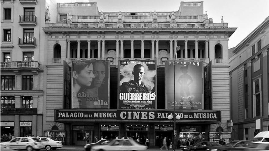 El Palacio de la Música, meses antes de su cierre// Foto Facebook 'Salvemos el Palacio de la Música'