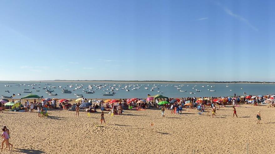 Playa de Sanlúcar de Barrameda (Cádiz, Andalucía)