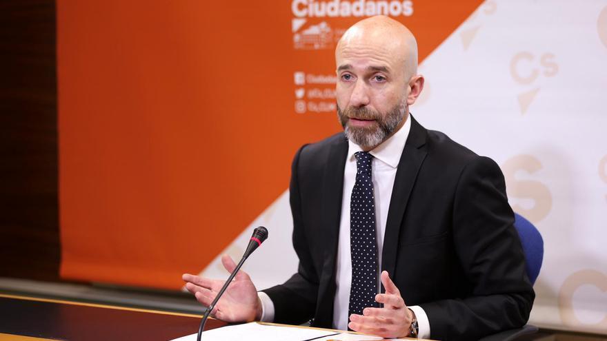 El diputado regional de Ciudadanos Castilla-La Mancha, David Muñoz