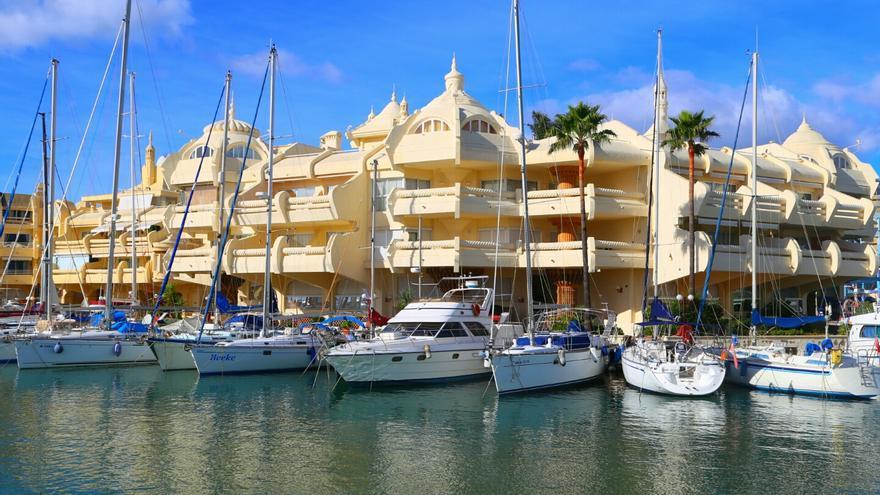 Puerto deportivo de Benalmádena /Foto: Puerto