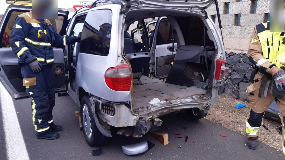 Accidente en Arona, Tenerife