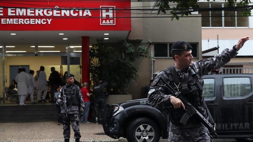Liberan a los dos policías acusados de matar a una turista española en una favela de Río