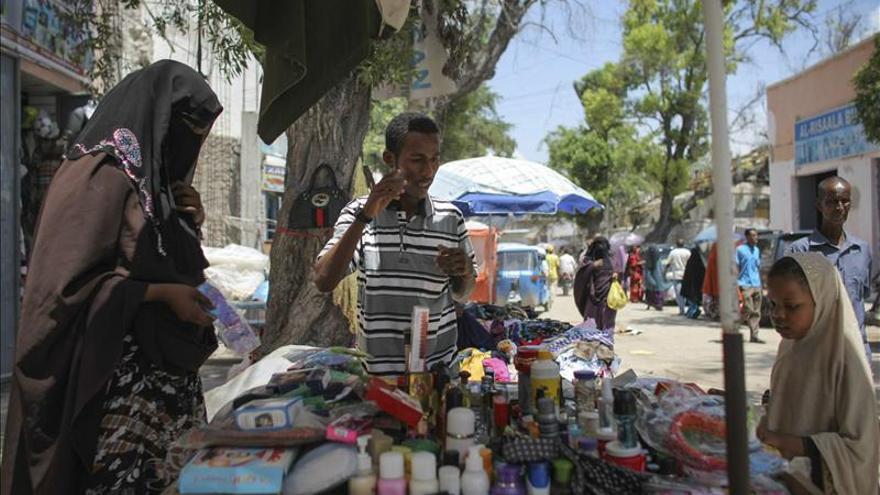 Mercado Hamar Weyne en Mogadisco, capital de Somalia. / Efe