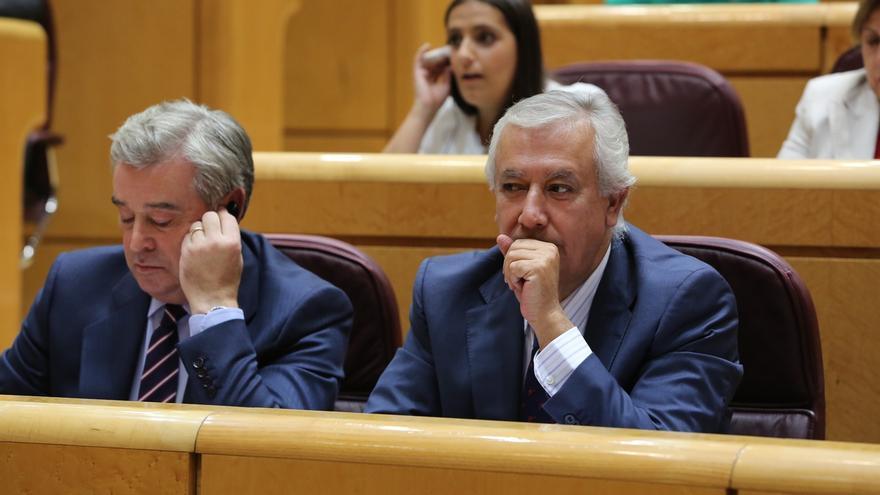 """Arenas se declara """"absolutamente ajeno"""" a su supuesta relación con Luis Bárcenas sobre la 'caja B' del PP"""
