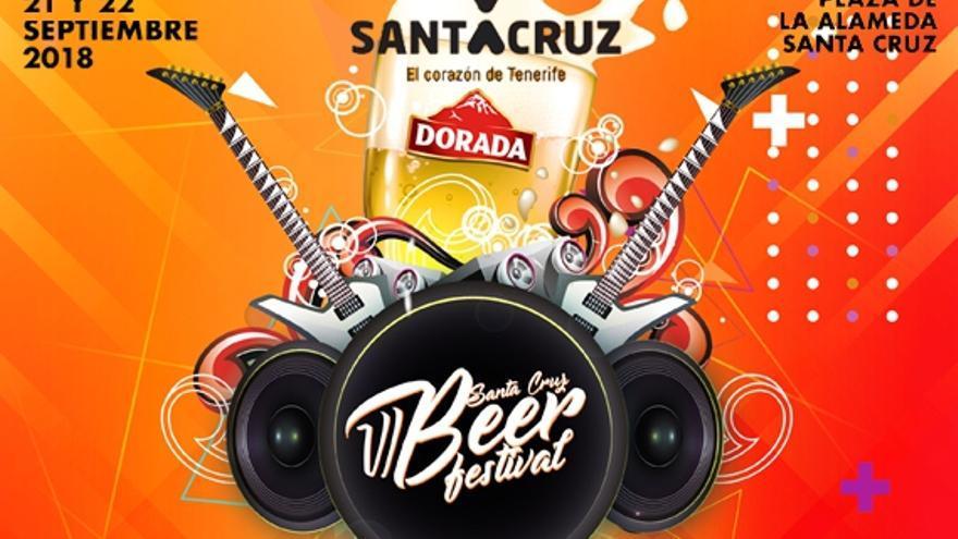 Cartel de la fiesta de la cerveza, este viernes y sábado en la plaza de la Alameda