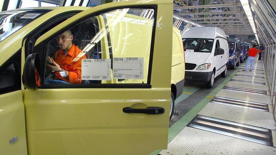 Mercedes invertirá 190 millones de euros en mejorar su planta de Vitoria