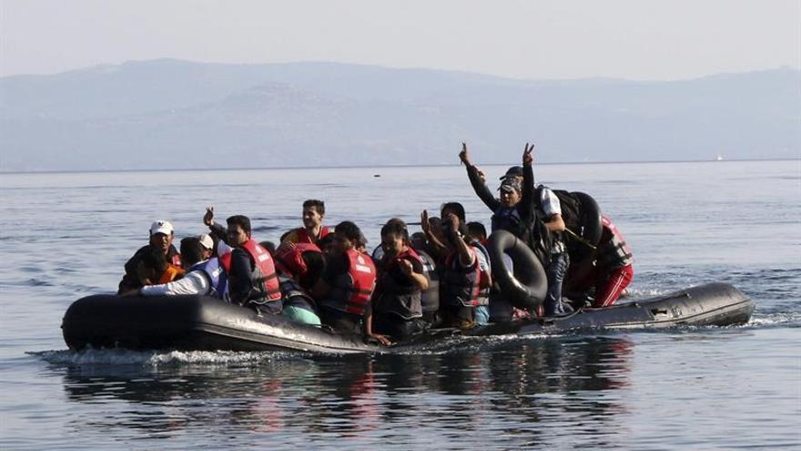 La llegada de inmigrantes a Grecia cae en agosto un 97 por ciento respecto al año pasado