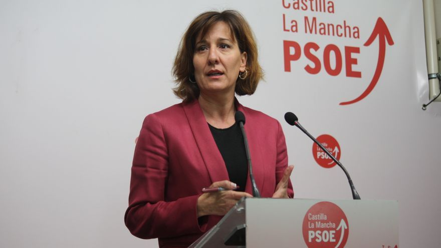 Blanca Fernández, portavoz parlamentaria del PSOE en Castilla-La Mancha