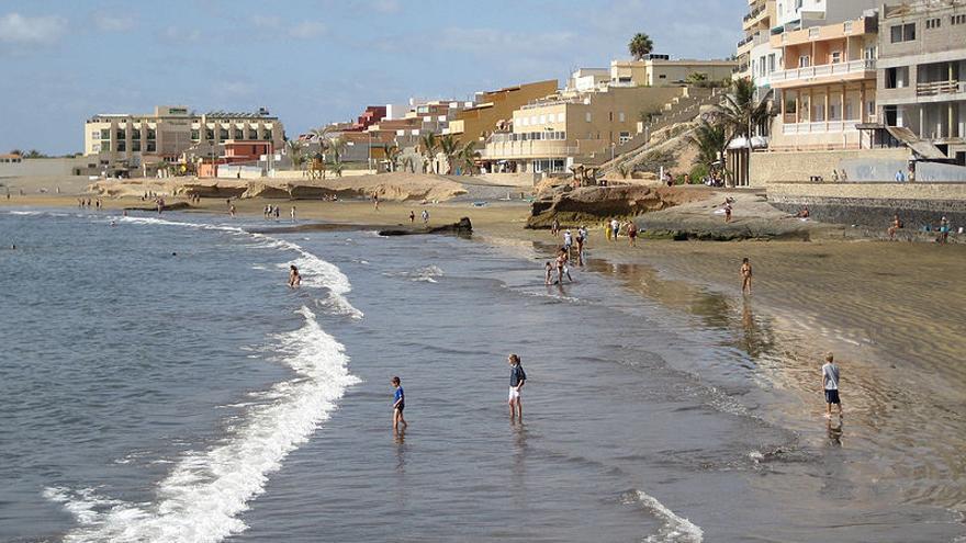 Imagen de archivo de El Médano, zona de playa de Granadilla
