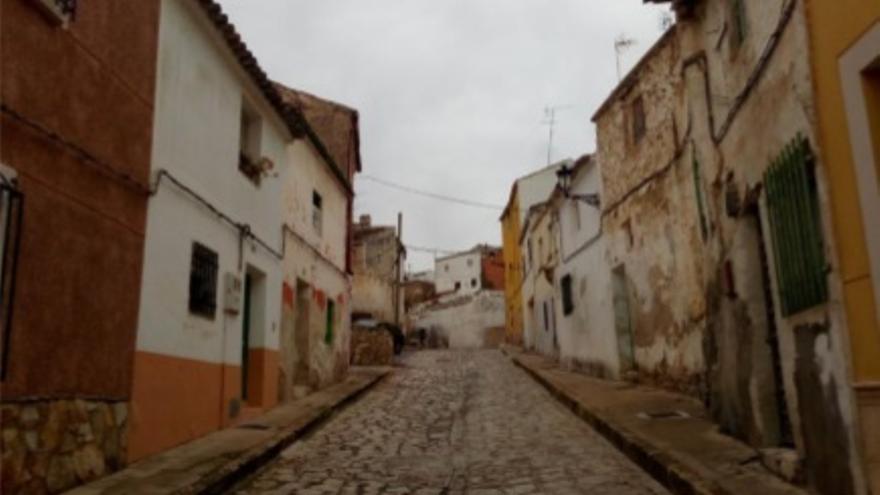 Calle del Agua, en Tarancón, antes y después de la actuación