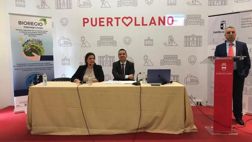 Mayte Fernández y Francisco Martínez Arroyo en la presentación de Bioregio