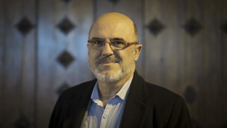 Juan Gascón, profesor de Psicología de la Universidad de Zaragoza en el Campus de Teruel.