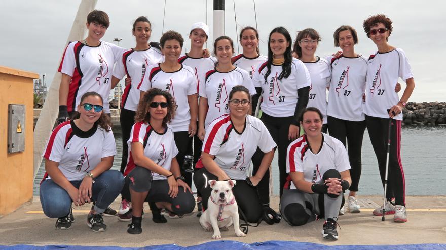 Integrantes del bote 'Tara del Mar'.