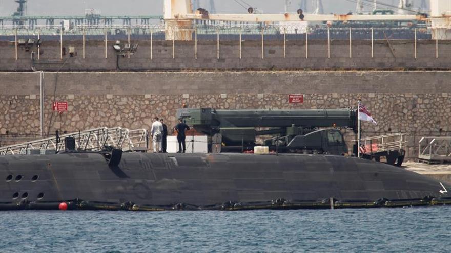 España pide de nuevo información a Londres por el submarino de Gibraltar