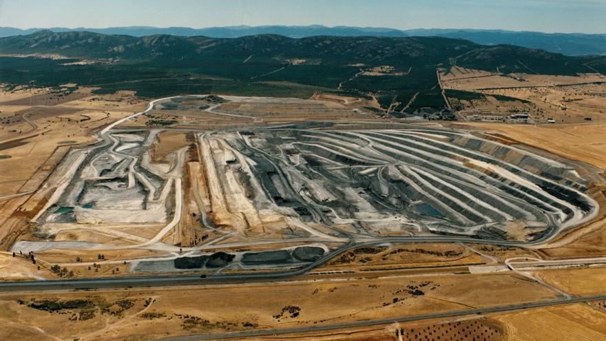 La mina de carbón 'Emma' de Puertollano en 1991