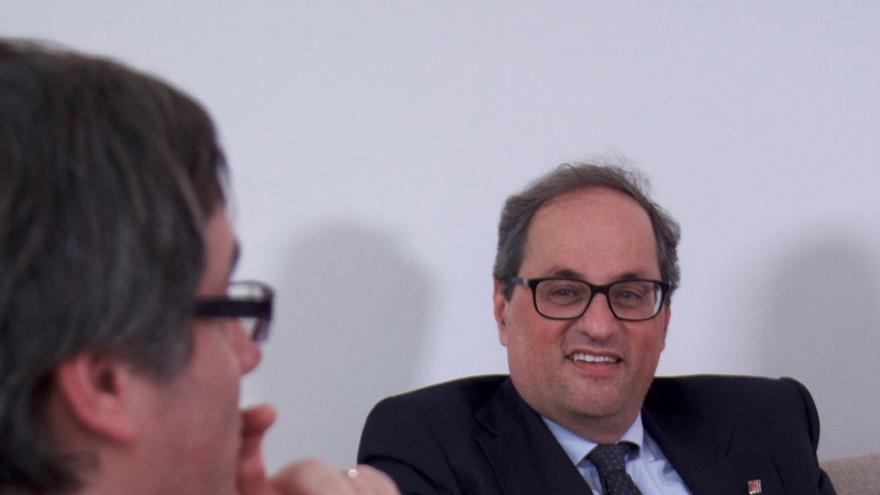 El PSC exige a Torra explicaciones sobre el viaje a Berlín para ver a Puigdemont