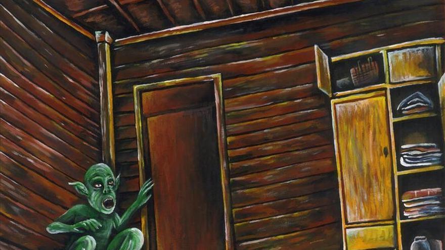 Los monstruos y fantasmas del folclore asiático, según un artista autista
