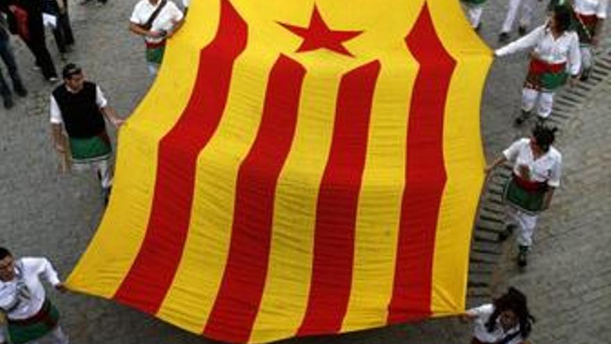 Bandera de Cataluña, Señera