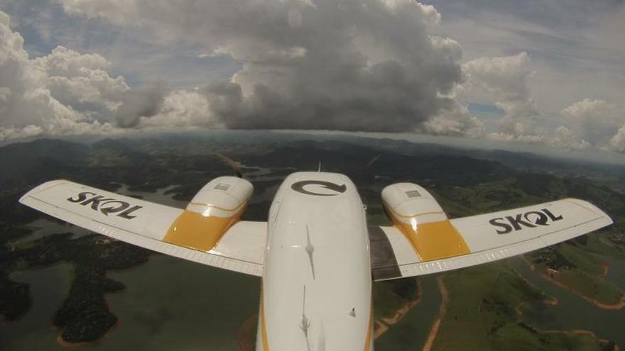 Empresa bombardea nubes para frenar las lluvias durante el carnaval en Sao Paulo