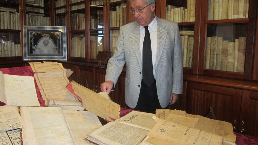 En la imagen, Carlos Lugo, presidente de la Sociedad La Cosmológica de la capital.