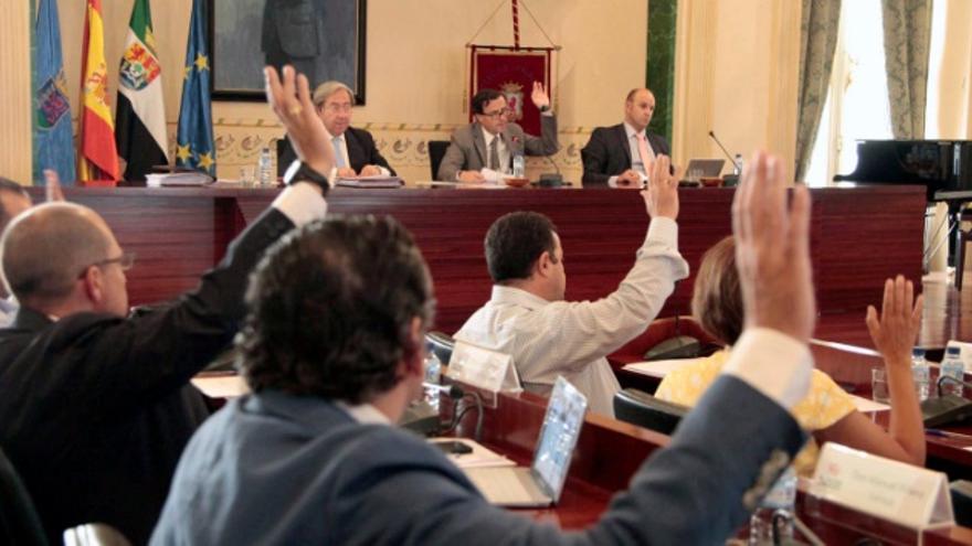 Pleno de la Diputación de Badajoz