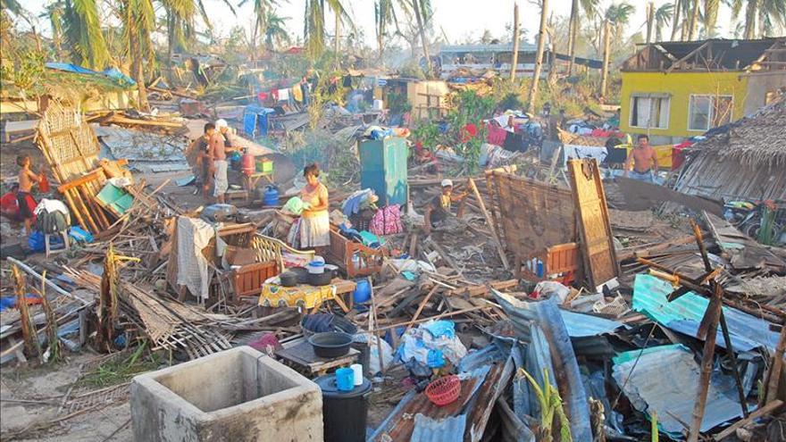 Las ONG se movilizan en España para ayudar a las víctimas del tifón Haiyan