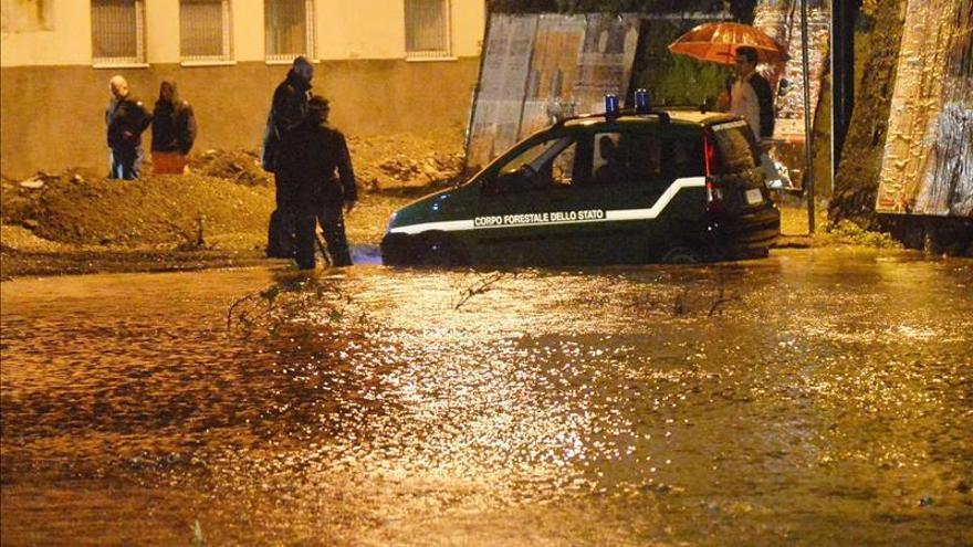 Dos muertos y un desaparecido por las inundaciones en el norte de Italia